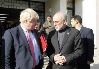 پیامی که جانسون در دیدار با مَرد هسته ای ایران دریافت کرد