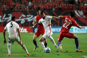 کره جنوبی 1- ایران 1/ کره در آرزوی شکست ایران ماند