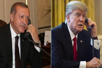 گفتگوی تلفنی ترامپ و اردوغان برای اولین بار
