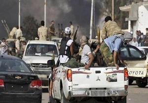 ده ها نیروی حفتر تسلیم و کشته شدند