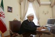 پیام تسلیت رئیس جمهور در پی درگذشت پدر شهیدان چراغی