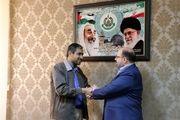 دبیرکل مجمع دوستی جوانان جهان اسلام با سران حماس در ایران دیدار و گفتگو کرد