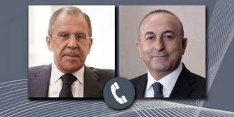 موضوع گفتوگوی تلفنی لاوروف و چاووشاوغلو چه بود؟