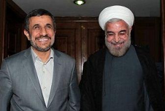 سبقت احمدی نژاد از روحانی در نظرسنجی ها!+ آمار