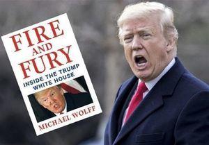 توئیت جدید ترامپ در مورد کتابش