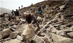 بمباران سیلوهای گندم در یمن