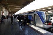 خط مترو تهران - کرج از ساعت 21پنجشنبه تا 13 جمعه پذیرش مسافر ندارد