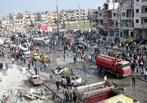 انفجار بمب در سویدای سوریه