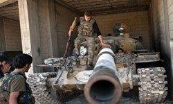 تحویل ۱۱ تانک تروریستهای مستقر در سوریه به ارتش