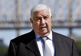 ولید المعلم: آمریکا اهداف و منافع اسرائیل را در سوریه دنبال میکند