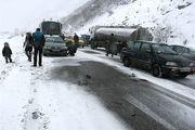 نجات 11 مصدوم از داخل خودرو طی 24 ساعت گذشته