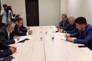 دیدار مشاور امنیت ملی رئیس جمهور ازبکستان با شمخانی