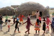 توزیع یک وعده غذای گرم در مهدهای کودک روستایی