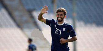 قلی زاده در ترکیب شارلروا در لیگ فوتبال بلژیک