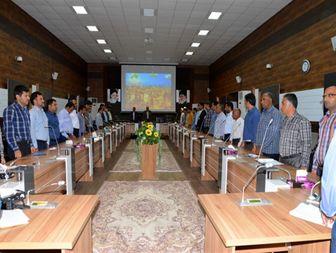 تشکیل سومین جلسه شورای اداری شهرستان ابوموسی+تصاویر