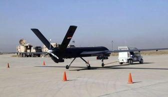 حملۀ هوایی یک پهپاد به داعش