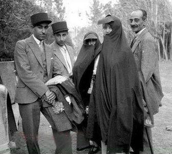 عکس هوایی دیده نشده از تهران در زمان قاجار!