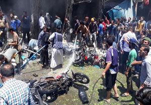 وقوع ۲ انفجار تروریستی در سوریه