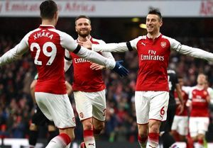 پیروزی یونایتد و آرسنال در لیگ