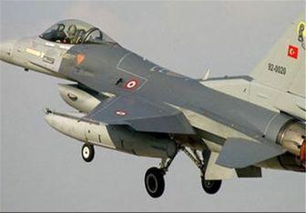 جنگندههای ترکیه بر فراز شمال عراق