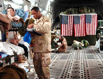 جزییات پرواز یواشکی بزرگترین آمبولانس هوایی ارتش آمریکا از عراق به آلمان