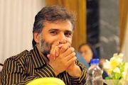 آرزوی سلامتی جواد هاشمی برای خانم بازیگر /عکس