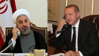 رایزنی تلفنی روحانی و اردوغان درباره سوریه