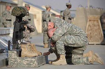 آماری تکان دهنده از خودکشی در ارتش آمریکا