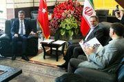 تاکید ایران و ترکیه بر گسترش روابط دو جانبه