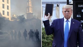 ترامپ: اعتراضات جنایتی علیه خداست!