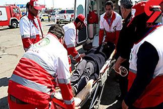 زائر جوان در مسیر نجف به کربلا، از مرگ حتمی نجات یافت