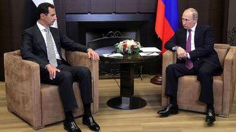 تاکید پوتین بر خروج نیروهای آمریکایی از سوریه