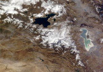 دریاچه ارومیه جان می گیرد؟+تصاویر