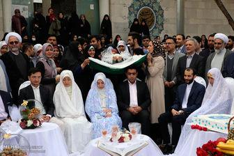 مهلت نامنویسی در بزرگترین جشن ازدواج کشور تمدید شد