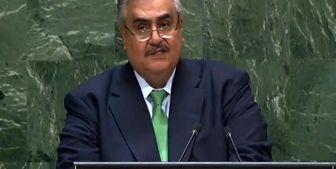 لفاظیهای وزیر خارجه بحرین علیه ایران