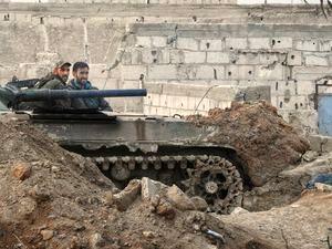 حمله مجدد تروریستها به گذرگاه غوطه شرقی