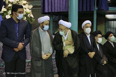 مراسم تشییع حجت الاسلام محتشمی پور