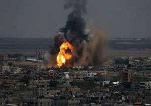 انفجار در شهرک صهیونیستی در اطراف غزه