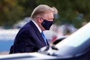 بیماری ترامپ در صدر اخبار بین الملل