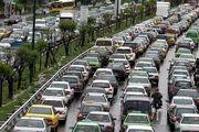 ترافیک سنگین در ۶ معبر بزرگراهی پایتخت