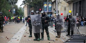تلفات جانی بزرگترین تظاهرات ضد دولتی در کلمبیا