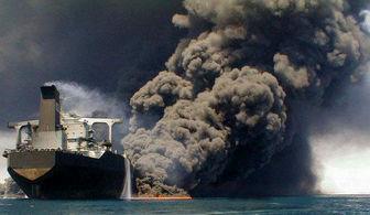 در پلاسکو چه کردند، برای نفتکش آتش گرفته چه می کنند؟