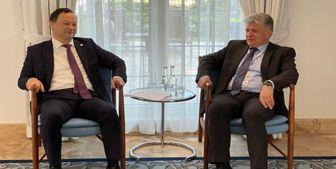دیدار وزیر امور خارجه قرقیزستان با «میریسلاو یانکو»