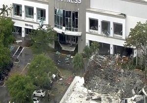 وقوع انفجاری مهیب در یک مرکز خرید