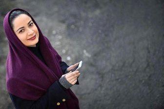 تیپ خاص «فهیمه» پایتخت و همسرش در یک مراسم /عکس