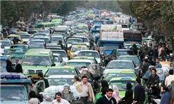 وضعیت ترافیکی شهر تهران در آخرین روز هفته