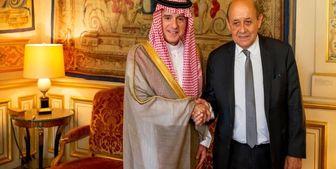دیدار عادل الجبیر با لودریان در پاریس