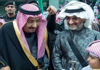 دیدار پادشاه عربستان با پولدارتون شاهزاده سعودی