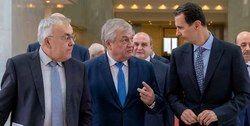 دیدار هیأت روس با رئیس جمهوری سوریه در دمشق