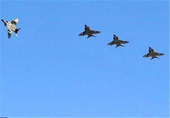 پرواز جنگندههای ارتش و سپاه در بندرعباس